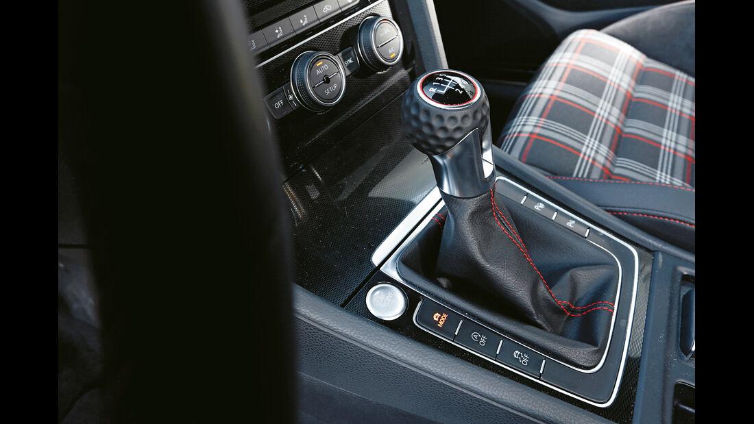 VW Golf GTI Performance, Schalthebel