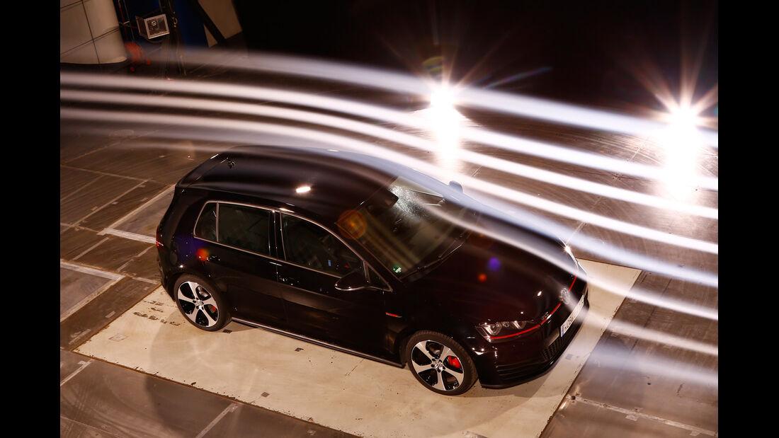 VW Golf GTI Performance, Windkanal