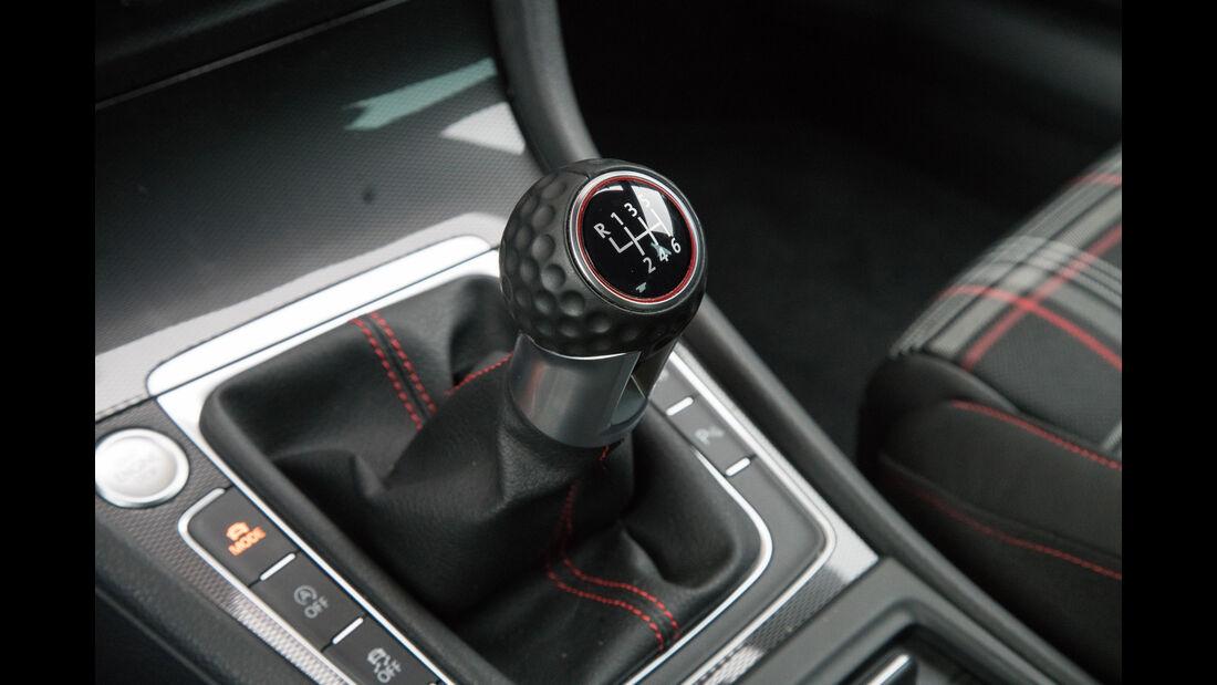 VW Golf GTI, Schalthebel