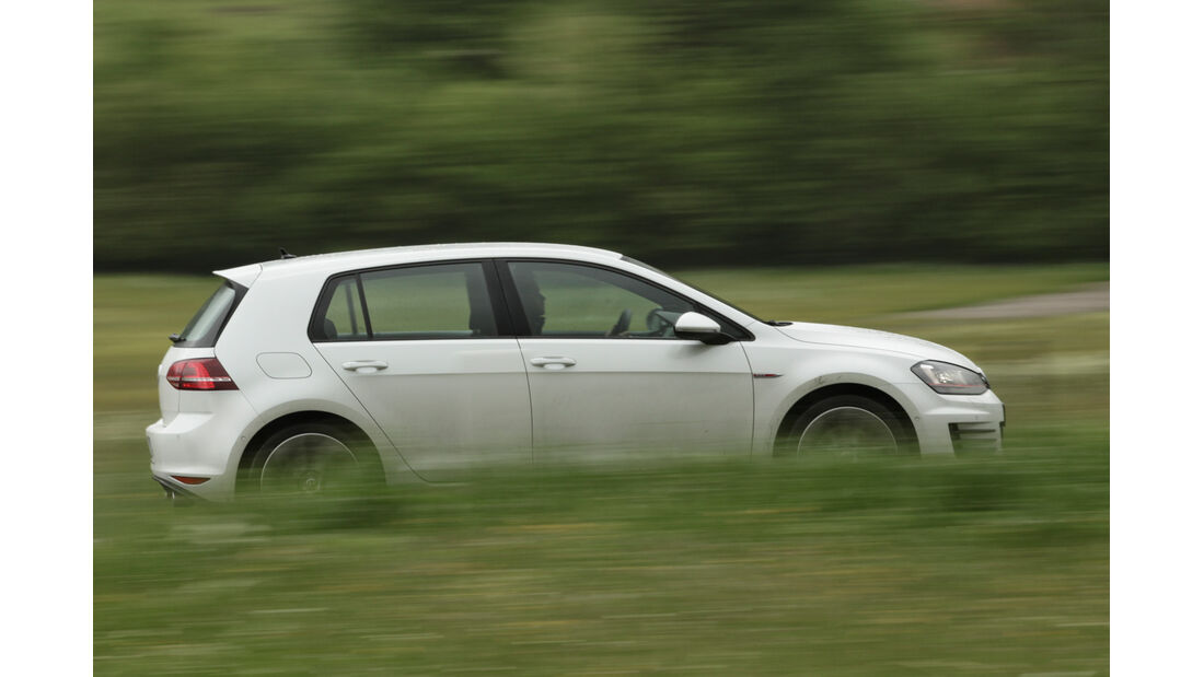 VW Golf GTI, Seitenansicht