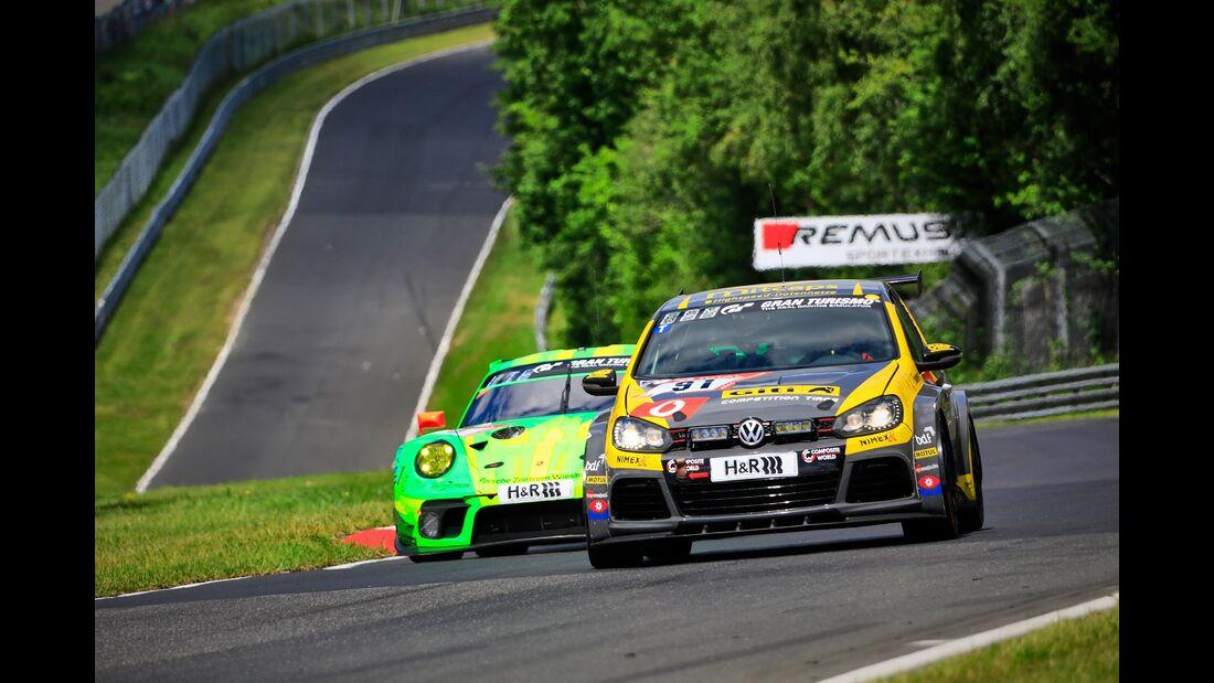 VW Golf GTI - Startnummer #91 - 24h Rennen Nürburgring - 21. Juni 2019