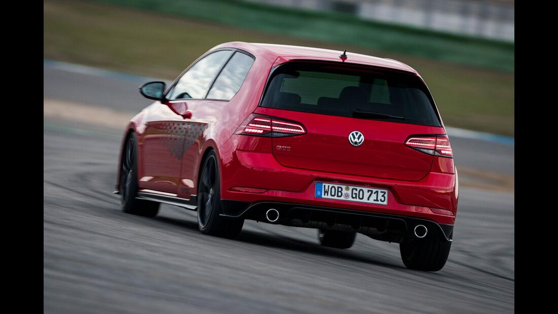 VW Golf GTI TCR, Heck
