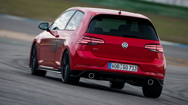 VW Golf GTI TCR, Heck