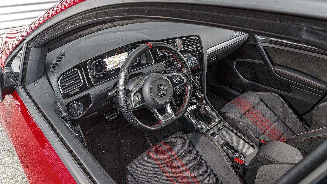 VW Golf GTI TCR, Interieur