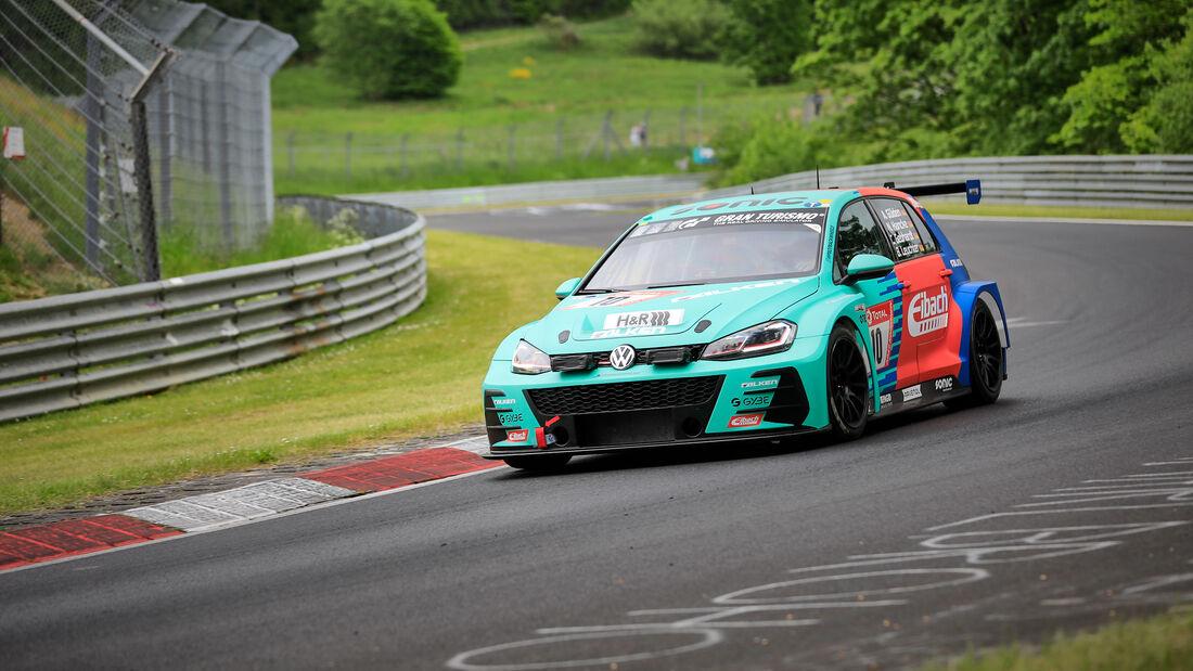VW Golf GTI TCR - Max Kruse Racing - Startnummer #10 - Klasse: SP 3T - 24h-Rennen - Nürburgring - Nordschleife - 03. - 06. Juni 2021