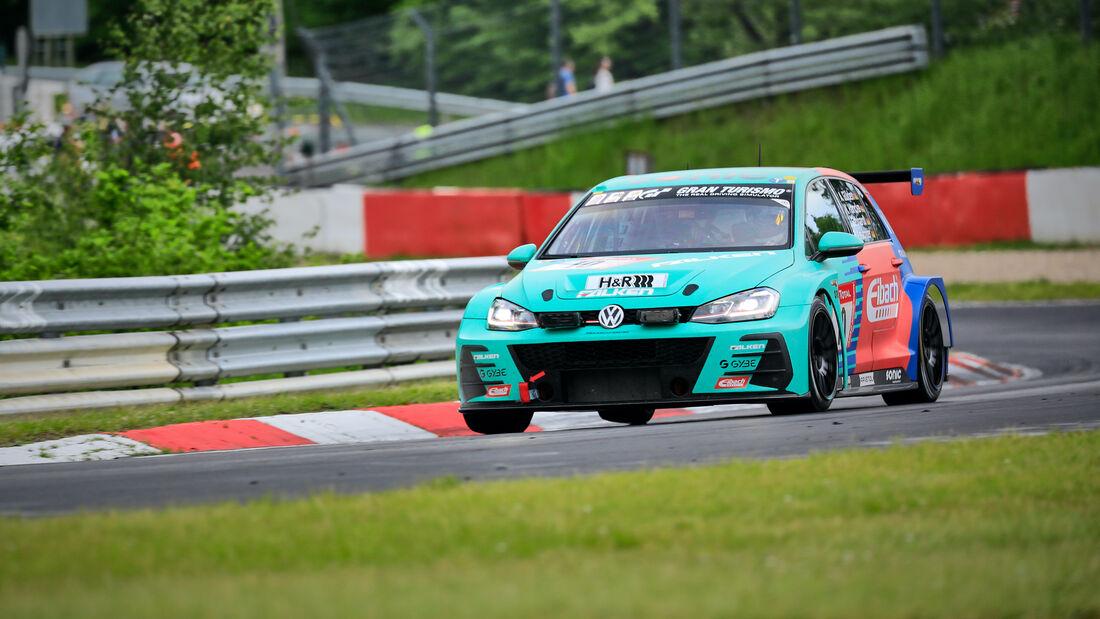 VW Golf GTI TCR - Max Kruse Racing - Startnummer - 24h Rennen Nürburgring - Nürburgring-Nordschleife - 4. Juni 2021