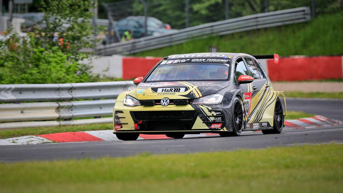 VW Golf GTI TCR - Max Kruse Racing - Startnummer #333 - Klasse: SP 3T - 24h-Rennen - Nürburgring - Nordschleife - 03. - 06. Juni 2021