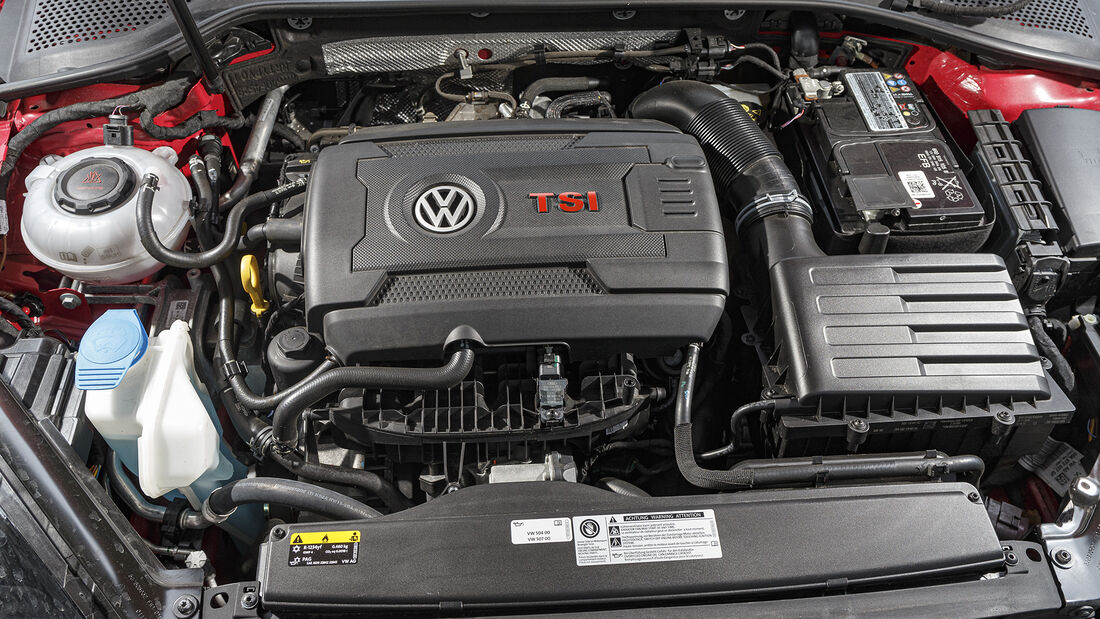 VW Golf GTI TCR, Motor