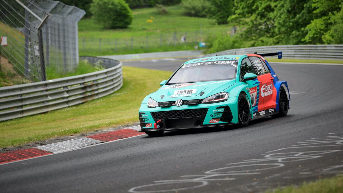 VW Golf GTI TCR - Startnummer 10 - 24h Rennen Nürburgring - Nürburgring-Nordschleife - 3. Juni 2021