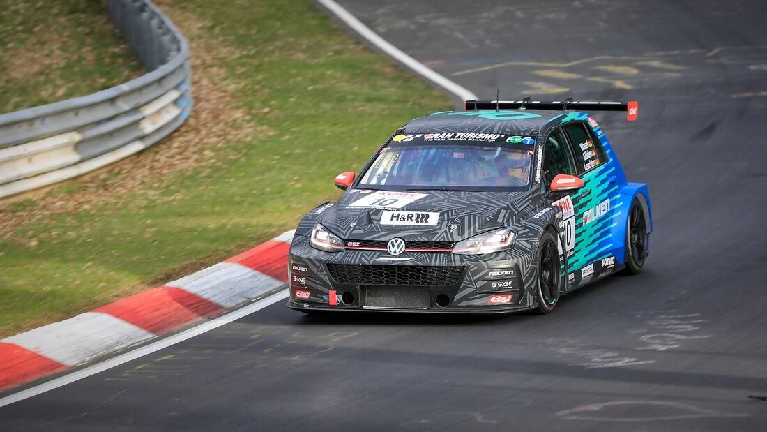VW Golf GTI TCR - Startnummer #10 - Max Kruse Racing - SP3T - NLS 2021 - Langstreckenmeisterschaft - Nürburgring - Nordschleife