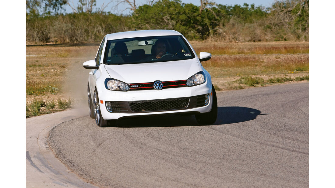 VW Golf GTI, Trockenhandling