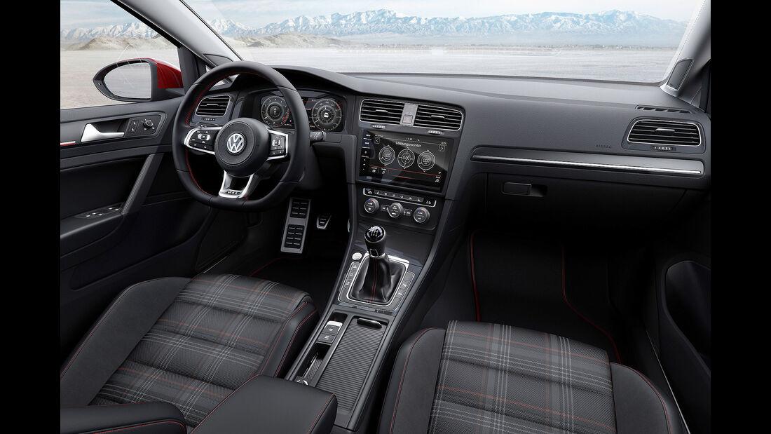 VW Golf GTI VII Facelift (2017) 3-Türer Cockpit