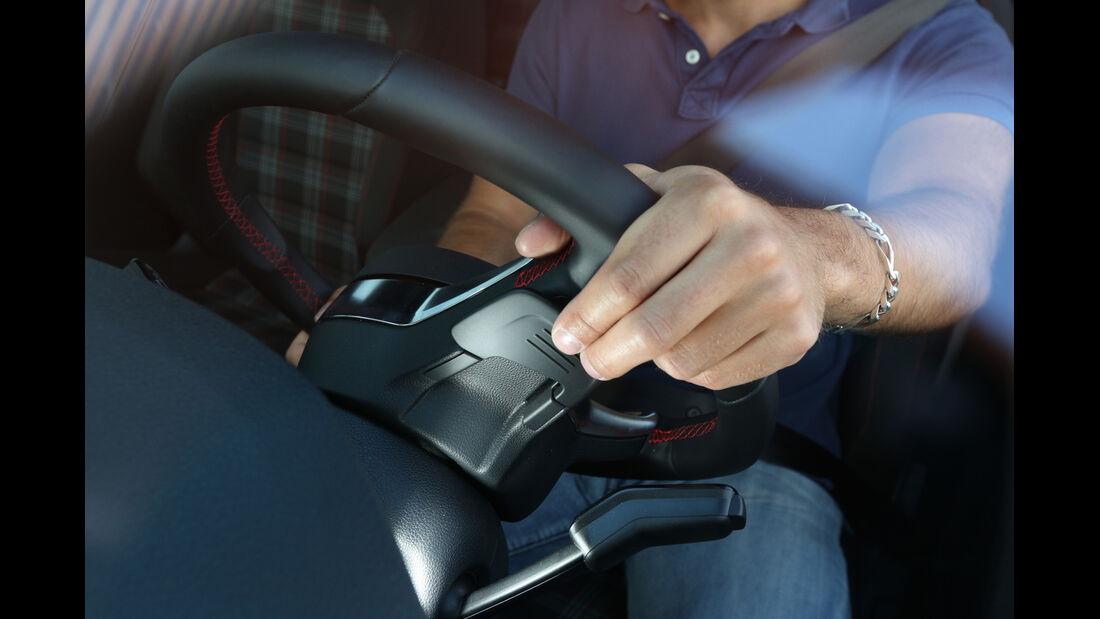 VW Golf GTI, Wippschalter, Lenkrad