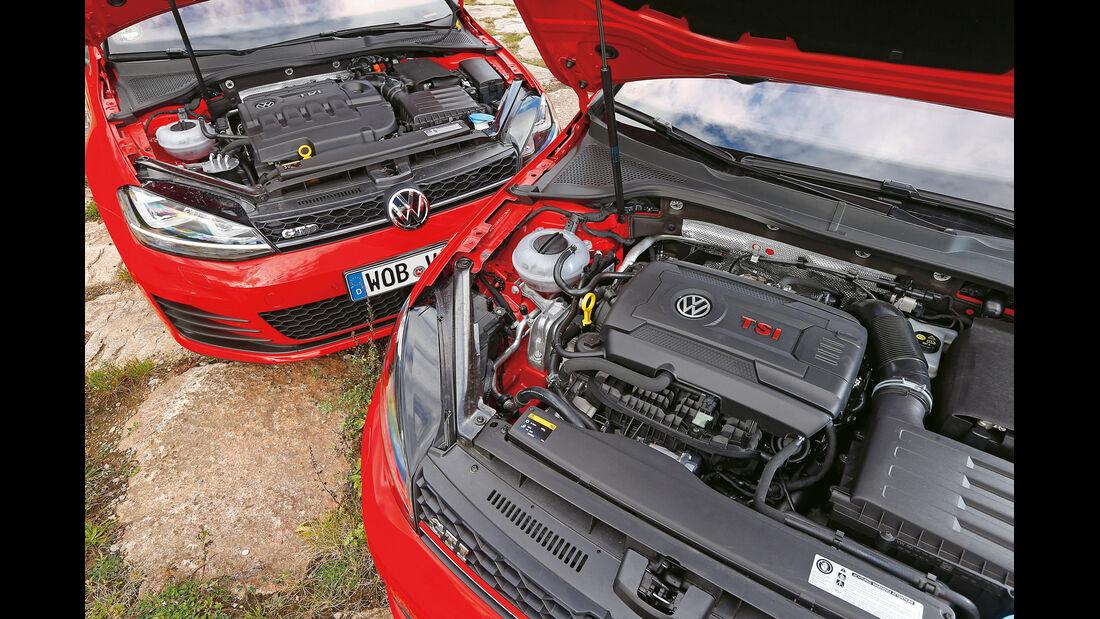 VW Golf GTI vs. GTD, Motoren