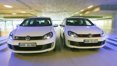 VW Golf GTI vs Golf GTD