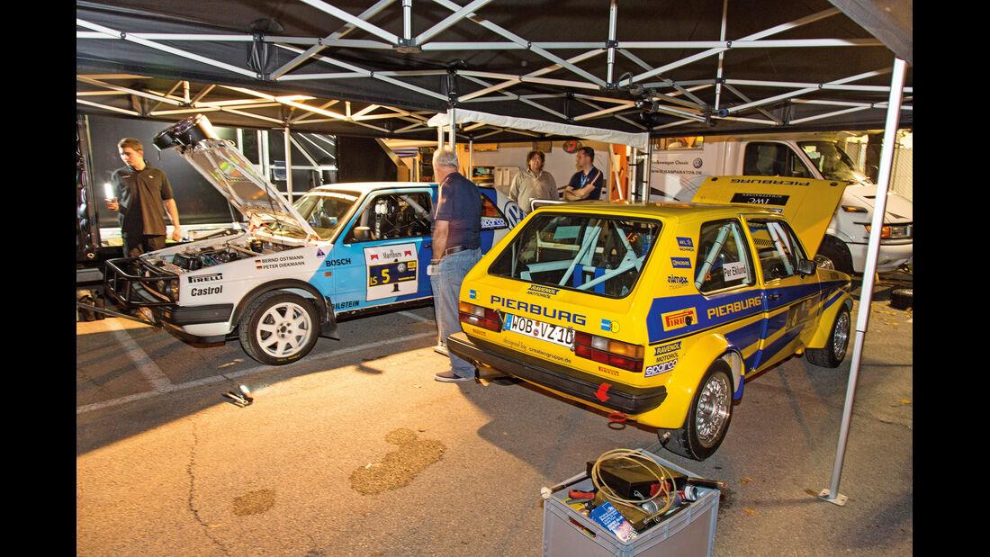 VW Golf, Garage, Pandama-Variante