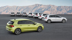 VW Golf Generationen