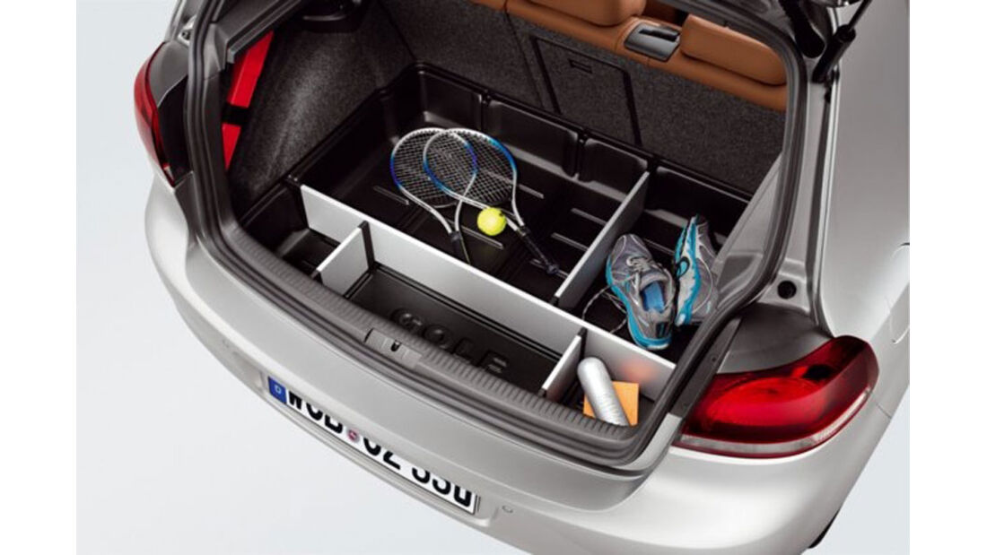 VW Golf, Gepäckraumwanne