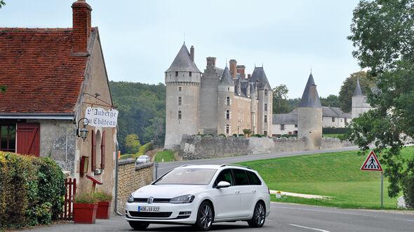 VW Golf Golf 2.0 TDI Variant, Burg