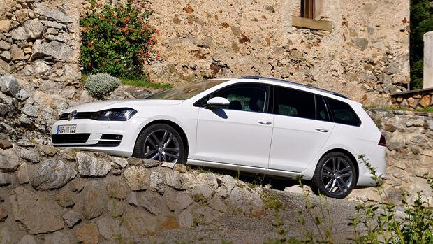 VW Golf Golf 2.0 TDI Variant, Seitenansicht