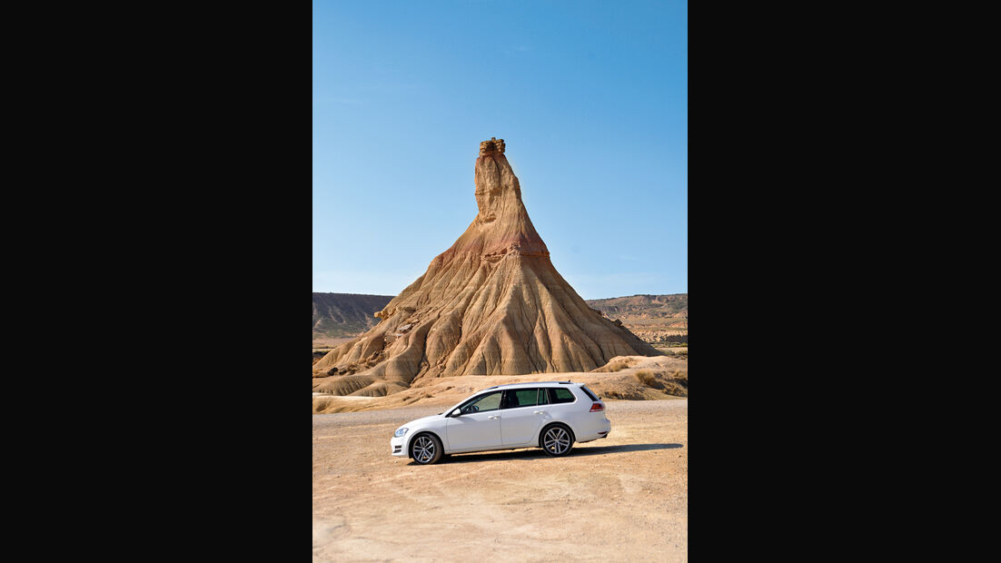 VW Golf Golf 2.0 TDI Variant, Wüste
