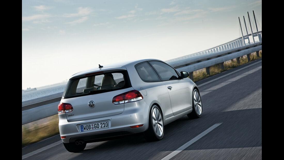 VW Golf, Heck