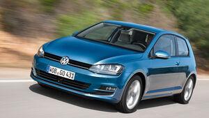 VW Golf, Heckansicht