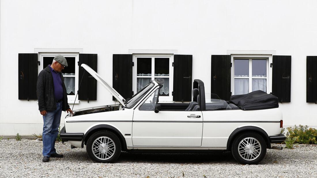 VW Golf I Cabrio 1.8, Exterieur