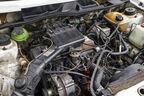 VW Golf I Cabrio 1.8, Motorraum