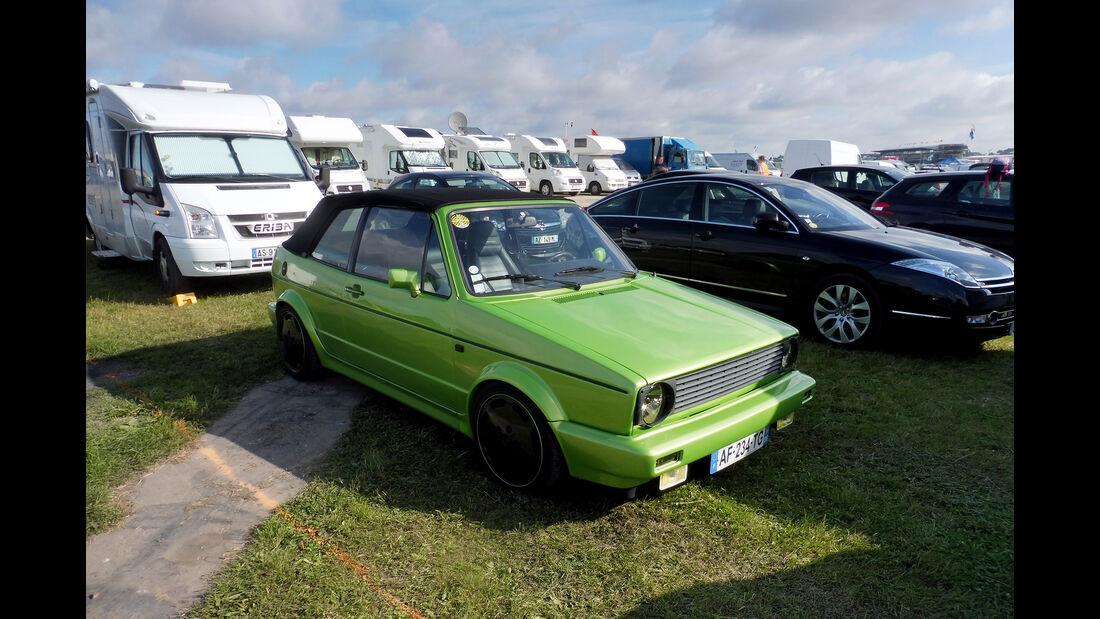 VW Golf I Cabrio - Fan-Autos - 24h-Rennen - Le Mans 2019