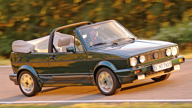 VW Golf I Cabrio, Seitenansicht