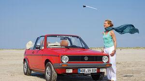 VW Golf I Cabriolet, Frontansicht