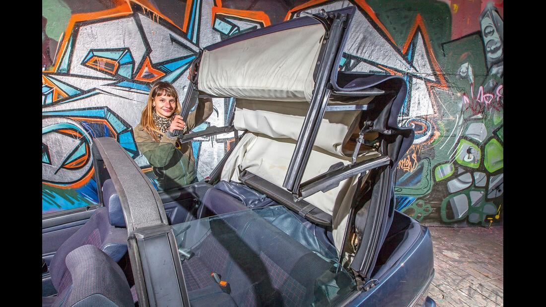VW Golf I Cabriolet, Verdeck