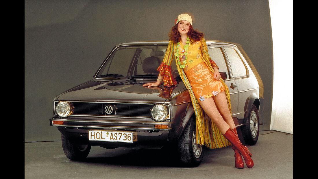 VW Golf I, Frontansicht