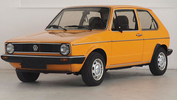 VW Golf I GLS Mandarin Orange (1981)