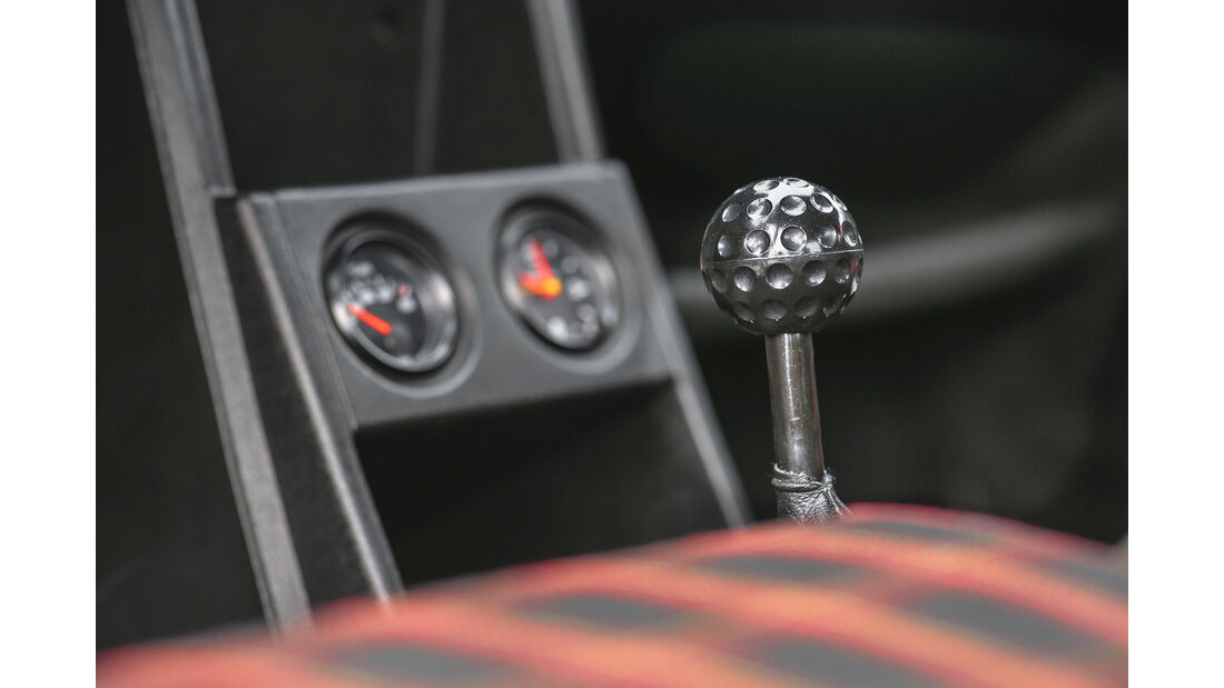 VW Golf I GTI, 1976, Interieur