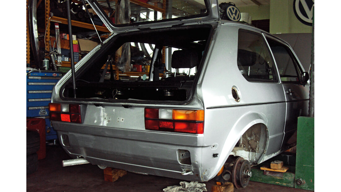 VW Golf I GTI, Chassis