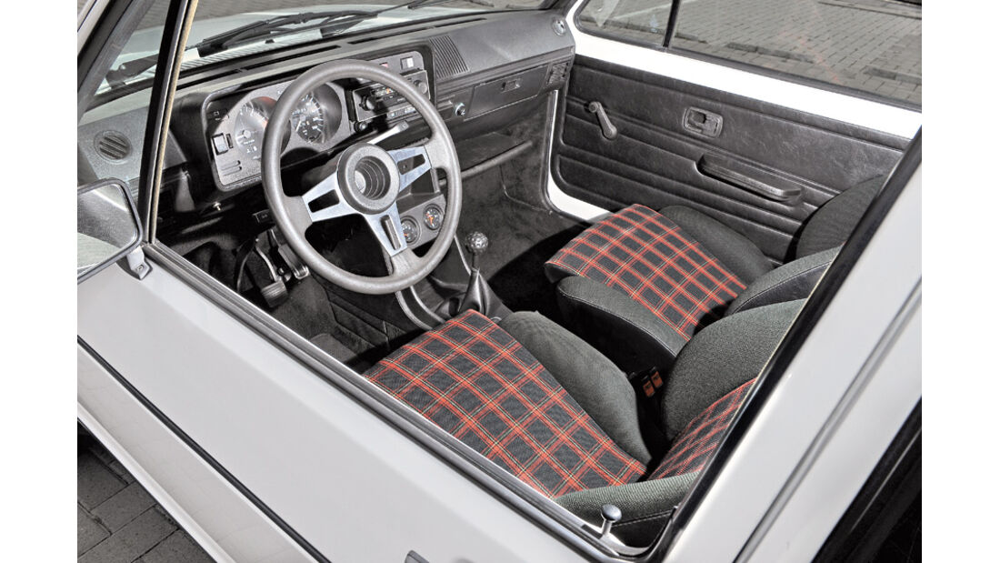 VW Golf I GTI, Cockpit