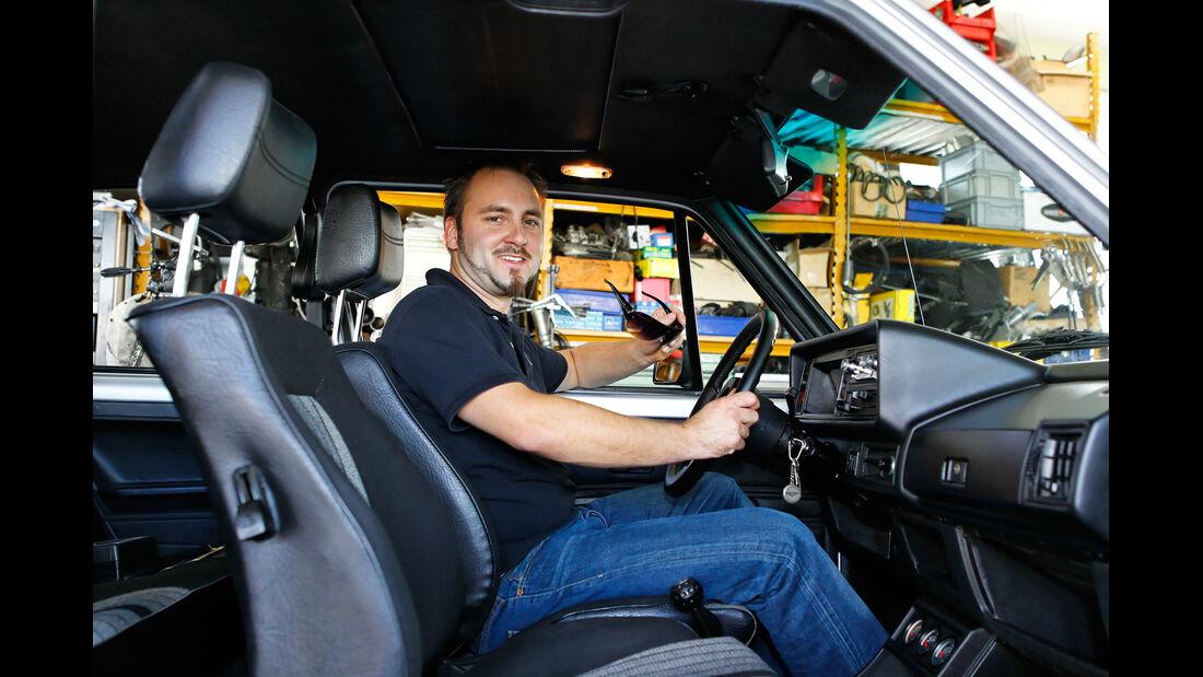 VW Golf I GTI, Cockpit, Matthias Schär