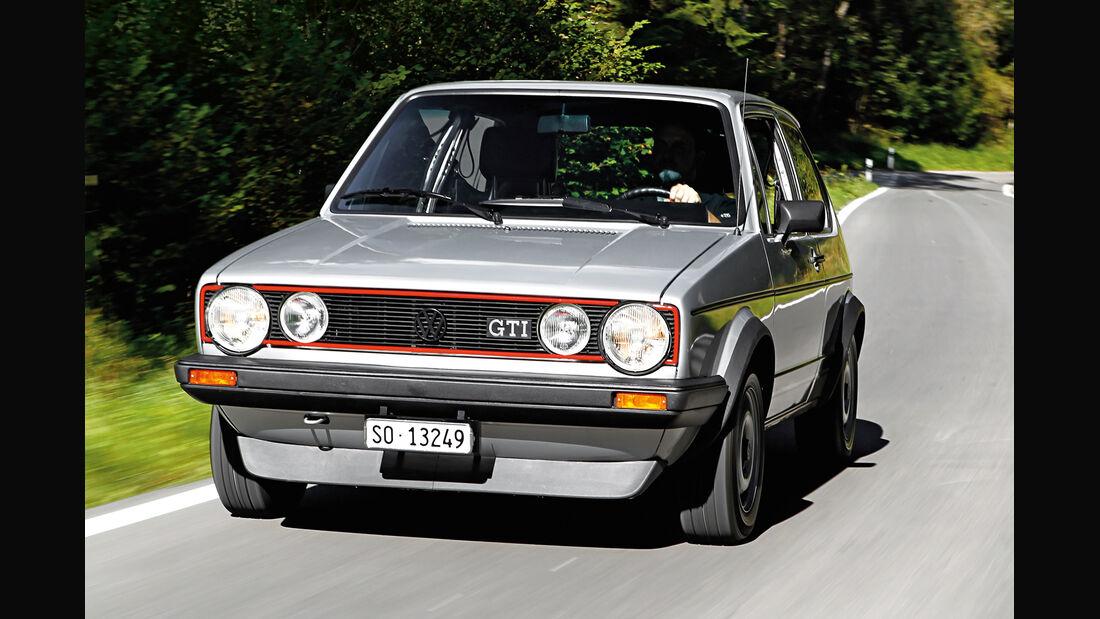 VW Golf I GTI, Frontansicht