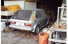 VW Golf I GTI, Heckansicht