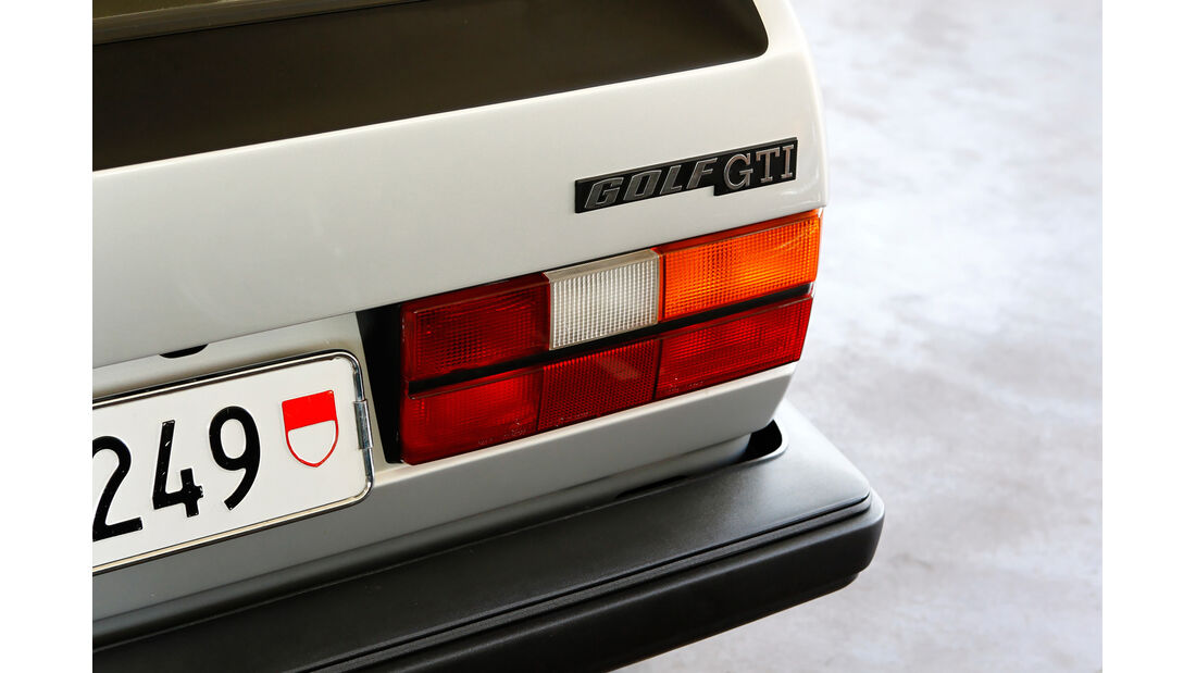 VW Golf I GTI, Heckleuchte