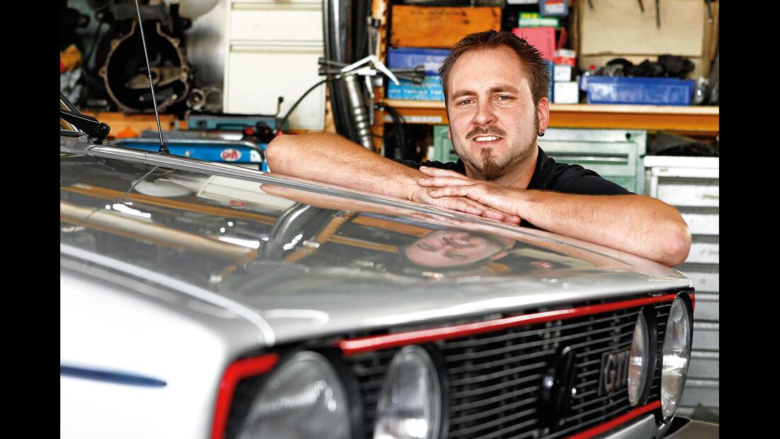 VW Golf I GTI, Matthias Schär