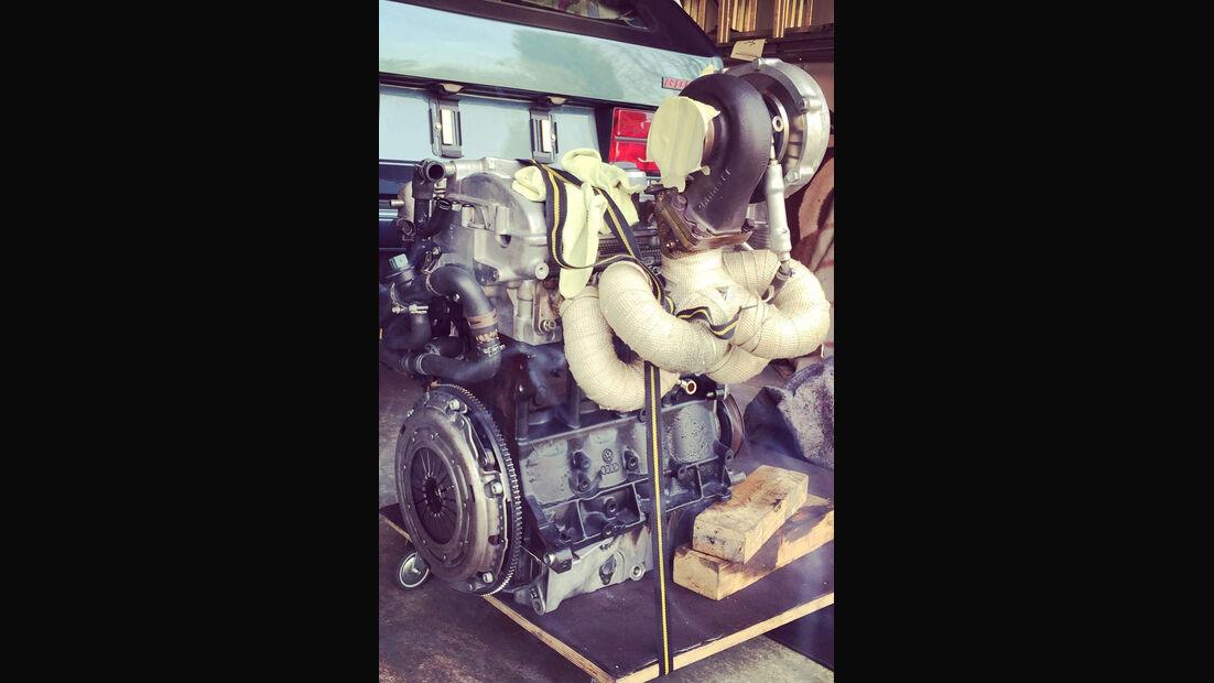 VW Golf I GTI Pirelli - Tuning - Sonderedition - 1,8-Liter-Vierzylinder-Turbo