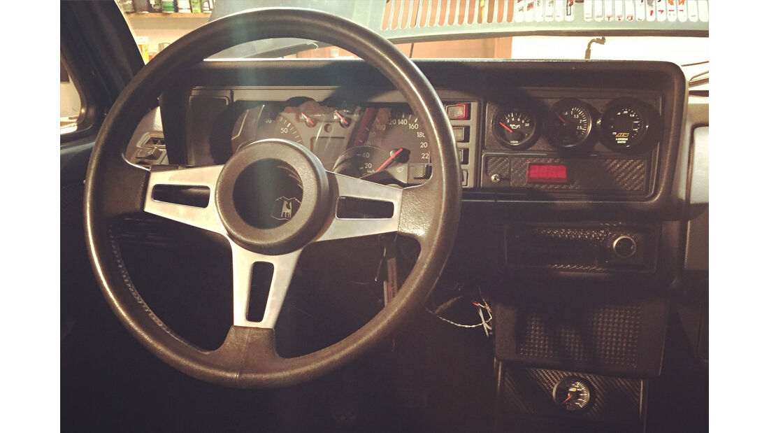 VW Golf I GTI Pirelli - Tuning - Sonderedition - Innenraum