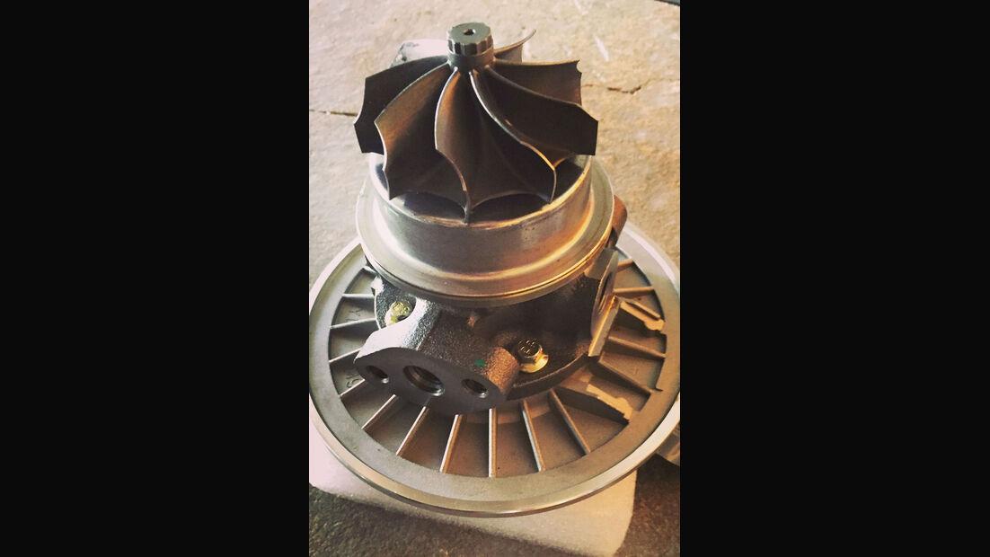 VW Golf I GTI Pirelli - Tuning - Sonderedition - Turbolader