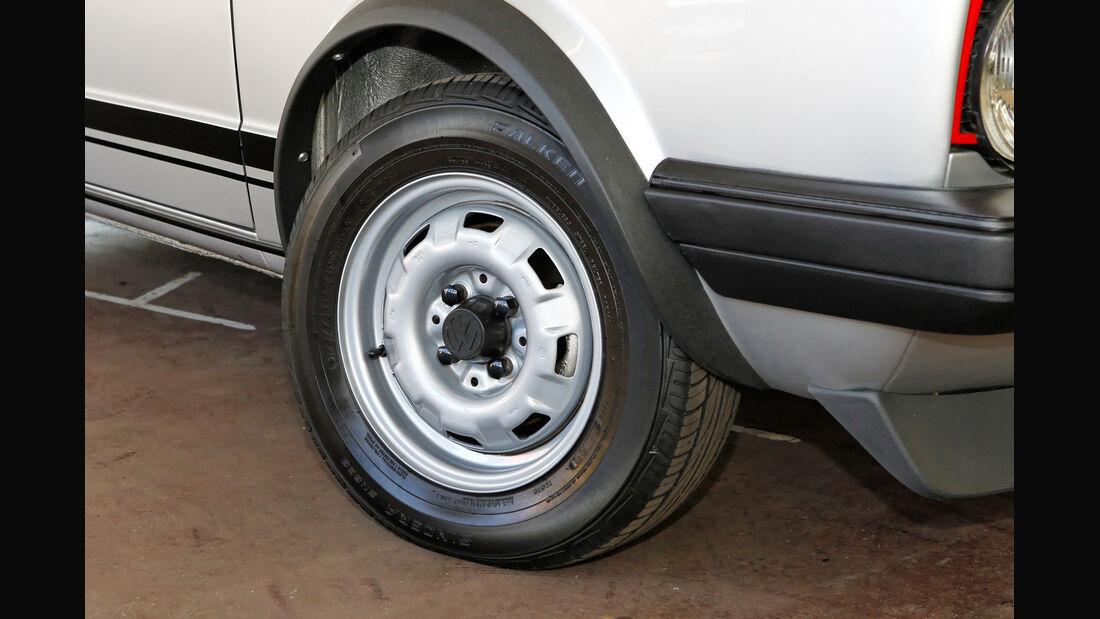 VW Golf I GTI, Rad, Felge