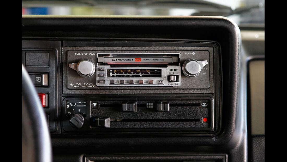 VW Golf I GTI, Radio