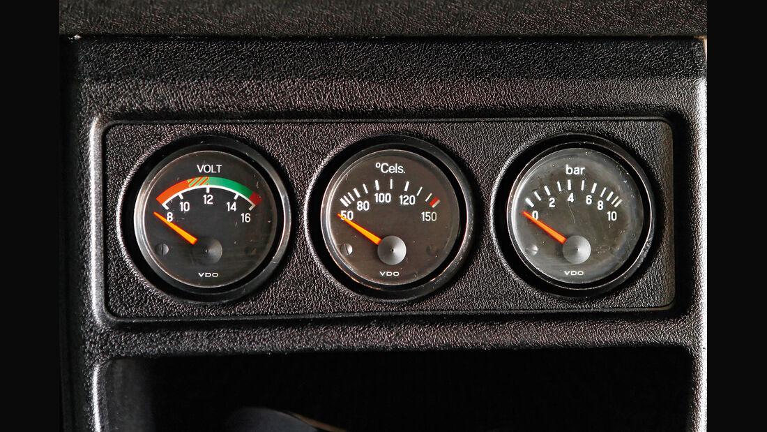 VW Golf I GTI, Rundinstrumente