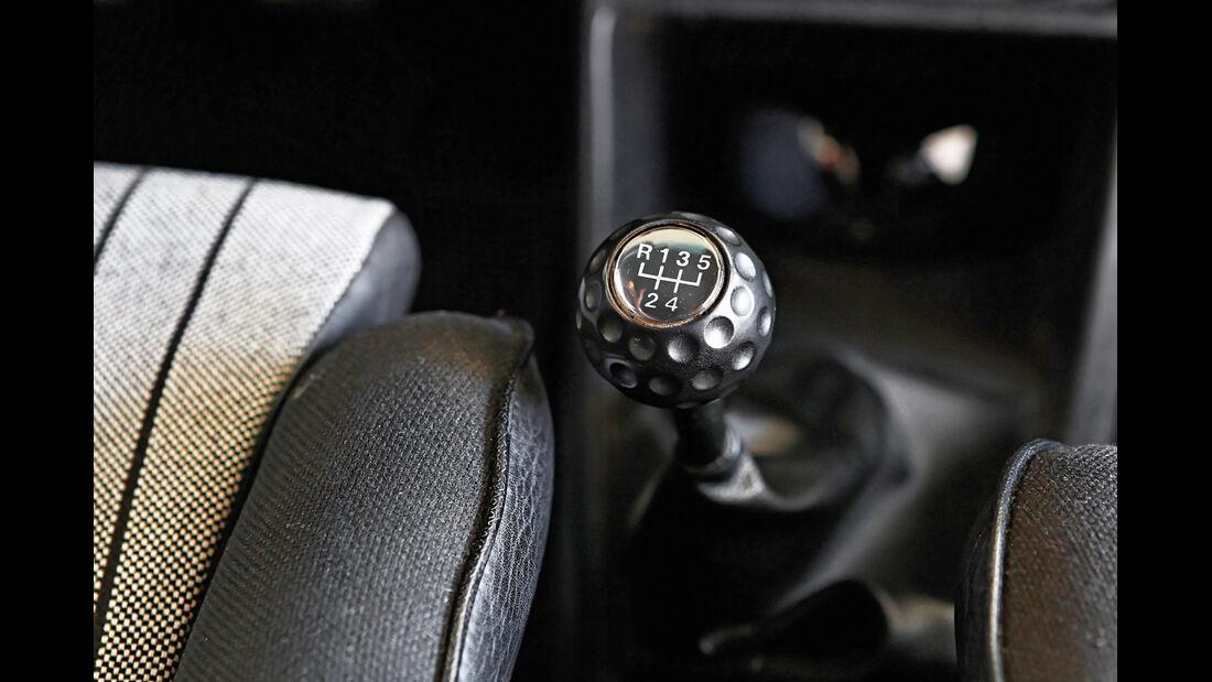 VW Golf I GTI, Schalthebel